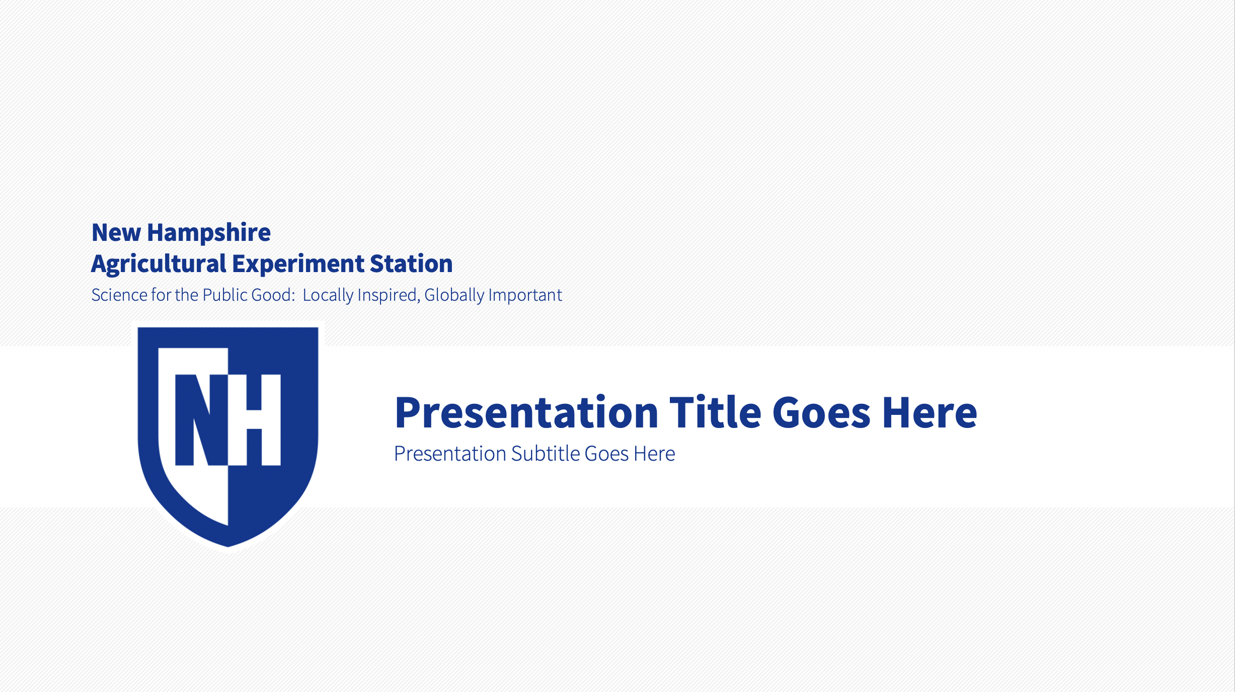 NHAES PPT Template