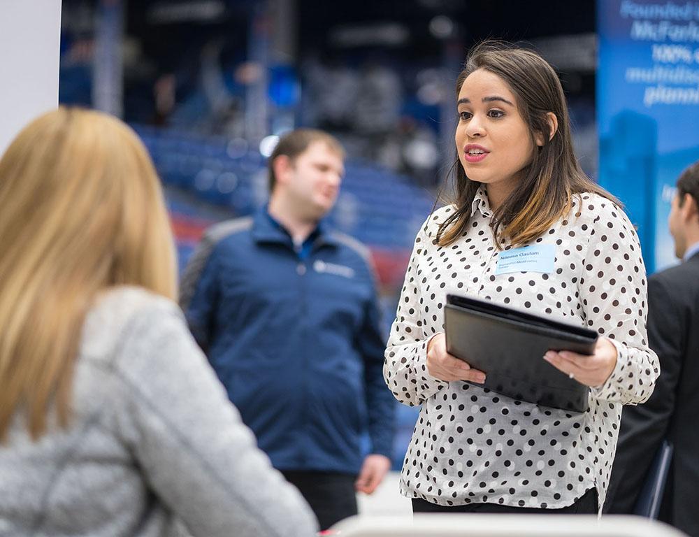 2018 Spring Career and Internship Fair UNH