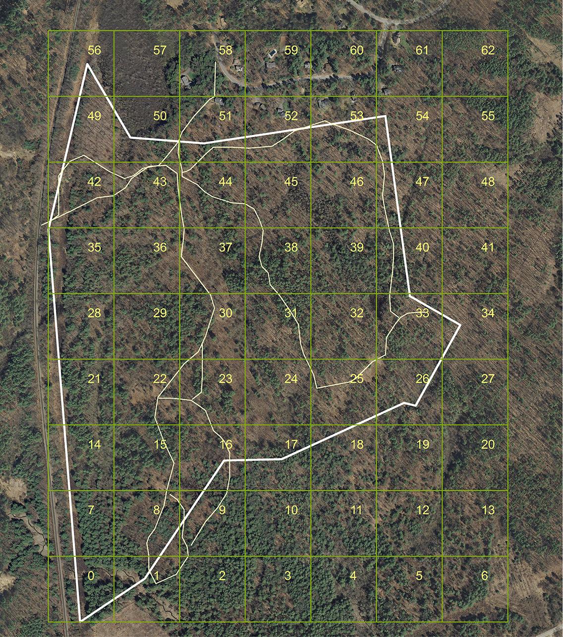 East Foss Farm Grid Map
