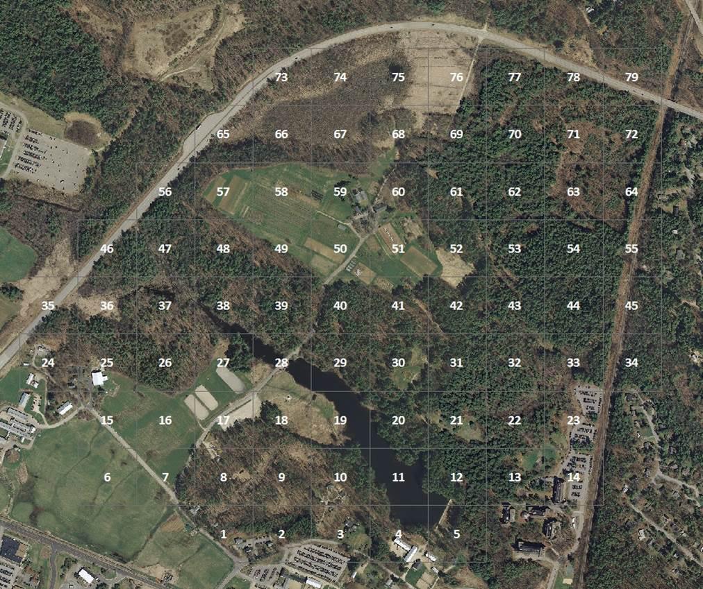 Horticulture Farm Grid Map