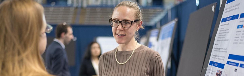 Allison Leach presenting at GRC