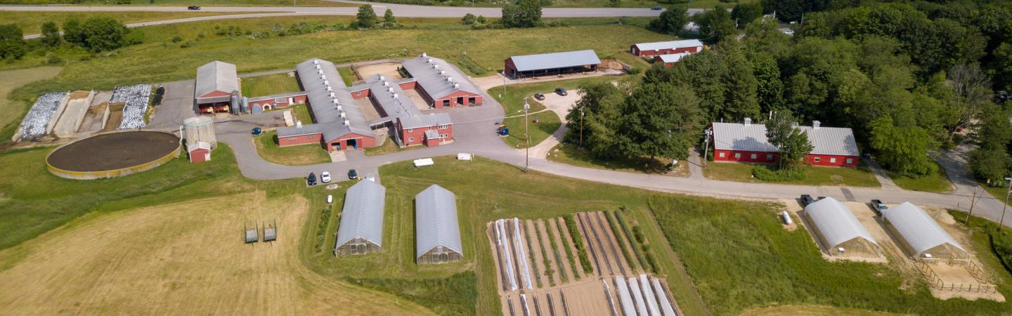 Fairchild Research and Teaching Dairy, High Tunnels, and Hay Production Field