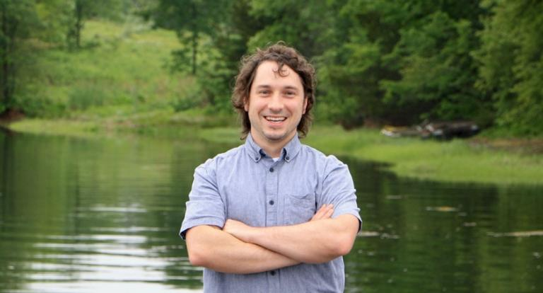 UNH graduate student Nick Anderson