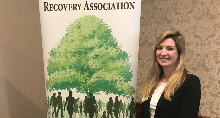 Jordan Strater presents at Northeast Resource Recovery Association annual membership meeting.