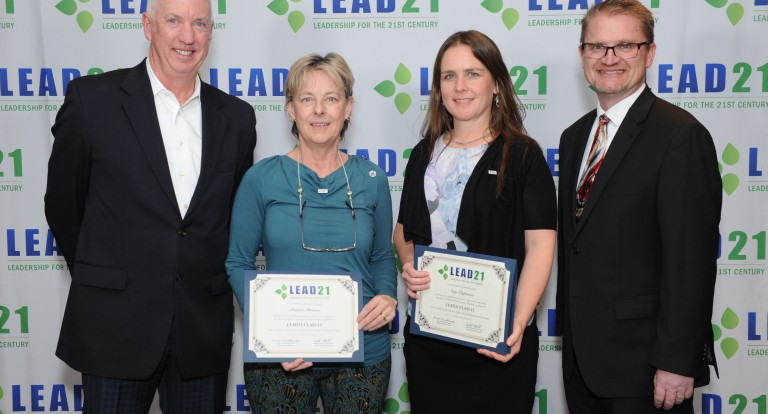 UNH Professor Bonnie Brown Graduates from LEAD21