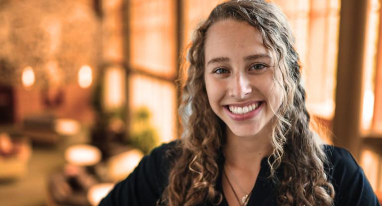UNH Environmental Conservation and Sustainability major Rachel Rymaszewski '20
