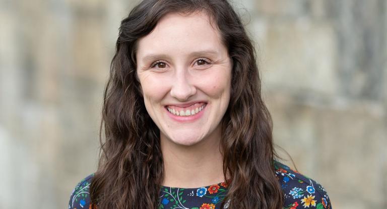 UNH graduate student Sara Murphy