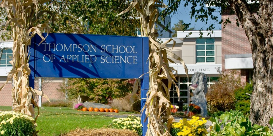 thompson school of applied science
