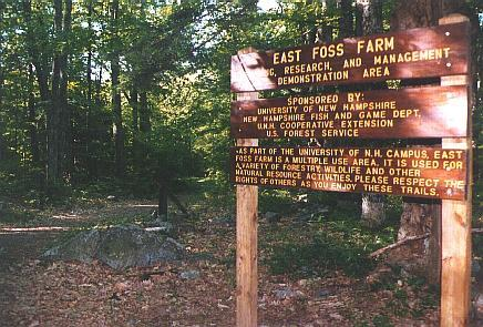 East Foss Farm sign