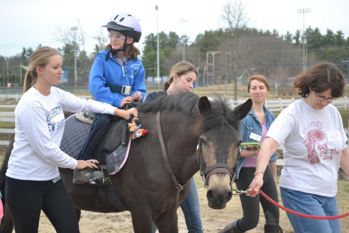 therapeutic riding program image